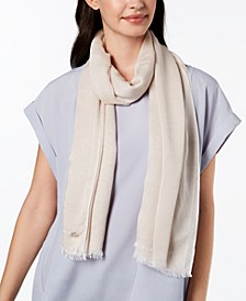 Chambray Woven Scarf