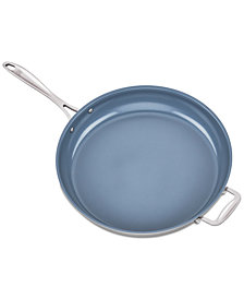 "Zwilling J.A. Henckels Spirit Ceramic Stainless Steel Non-Stick 14"" Fry Pan"