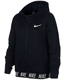 Nike Big Girls Zip-Up Dry Training Hoodie
