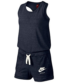 Nike Sportswear Vintage Romper, Big Girls