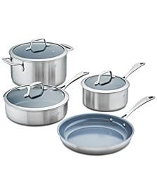 Zwilling Spirit Ceramic Non-Stick Ceramic 7-Pc  Cookware Set