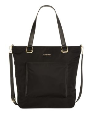 COLLABORATION LARGE NYLON TOTE