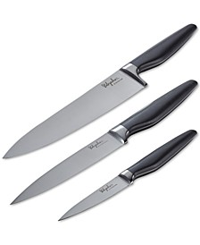 3-Pc. Japanese Steel Cooking Knife Set