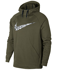 Nike Men's Therma Collage-Logo Hoodie