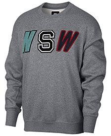 Nike Men's Sportswear Varsity Fleece Sweatshirt