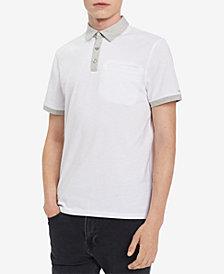 Calvin Klein Men's Contrast Polo