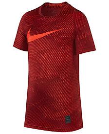 Nike Big Boys Pro Swoosh-Print T-Shirt