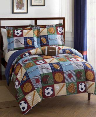Team Sport 4-Pc. Full Comforter Set