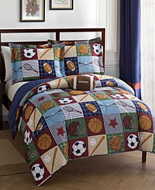 Team Sport 4-Pc. Full Comforter Set