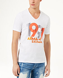 A|X Armani Exchange Men's Slim Fit Graphic-Print T-Shirt