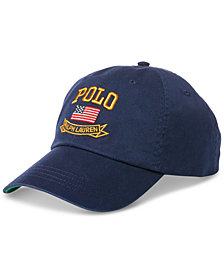 Polo Ralph Lauren Men's American Flag Chino Baseball Cap