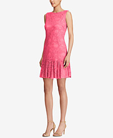 American Living Ruffled Lace Dress
