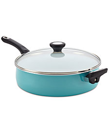 Farberware PURECOOK Ceramic Non-Stick  Covered 5-Qt. Jumbo Cooker & Lid