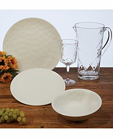 Cream Melamine Dinnerware
