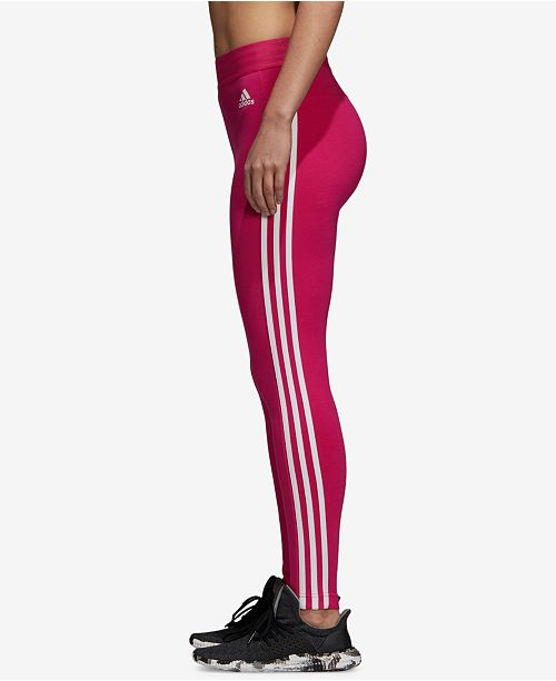 Essentials Leggings adidas White Real Magenta a07PqU