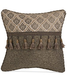 "Croscill Nerissa 16"" x 16"" Fashion Decorative Pillow"