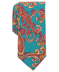 Tallia Men's Fawcet Paisley Slim Tie
