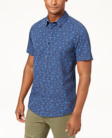 American Rag Men's Floral Shirt, Created for Macy's