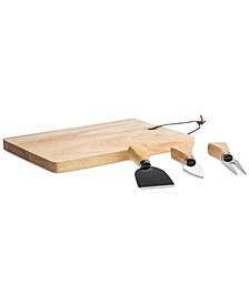 4-Pc. Cheeseboard Set