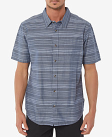 O'Neill Men's Line Up Stripe Pocket Stretch Shirt