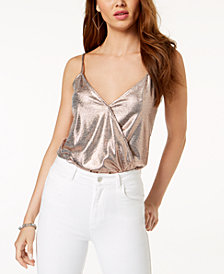 GUESS Breana Metallic Adjustable Bodysuit