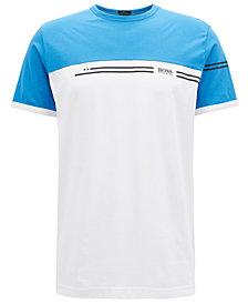 BOSS Men's Regular/Classic-Fit Cotton Logo Print T-Shirt