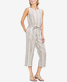 Vince Camuto Cotton Cropped Jumpsuit