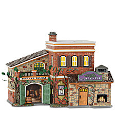 Department 56 Villages Grapevine Winery