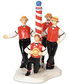Department 56 Villages The Flattops Barbershop Quartet