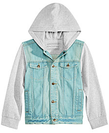 Ring of Fire Big Boys Denim Jacket, Big Boys, Created for Macy's