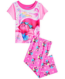 Trolls by DreamWorks Toddler Girls 2-Pc. Poppy Pajama Set