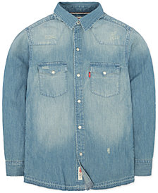 Levi's® Boys' Barstow Denim Shirt