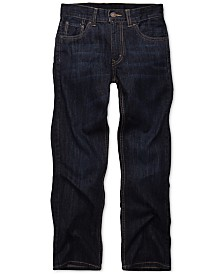Levi's® 505™  Regular Fit Jeans, Big Boys Husky