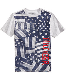 Tommy Hilfiger Big Boys Graphic-Print T-Shirt