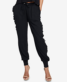 RACHEL Rachel Roy Ruffled Jogger Pants, Created for Macy's