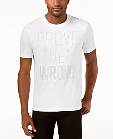 Sean John Men's Prove Them Wrong Mini-Stud T-Shirt