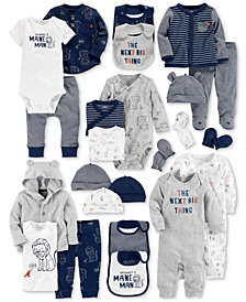 Carter's Baby Boys Printed Layette Separates