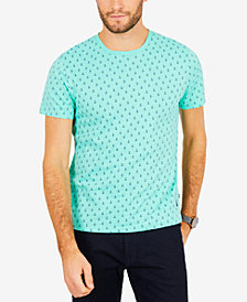 Nautica Men's Anchor-Print Cotton T-Shirt