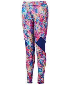 adidas Little Girls Believe This Printed Leggings