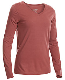 EMS® Women's Techwick® Vital Long-Sleeve V-Neck T-Shirt