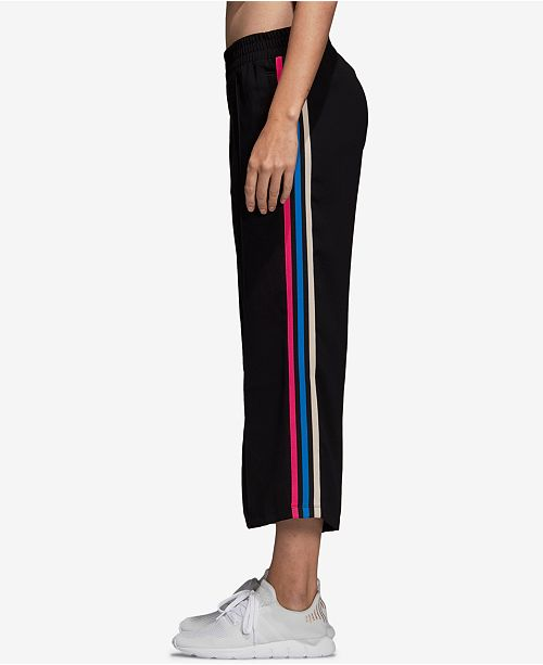 cd213d0f6488 adidas Relaxed Cropped Track Pants  adidas Relaxed Cropped Track Pants ...