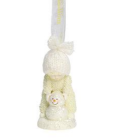 Department 56 Snowbabies Peace Making A Snowman Ornament