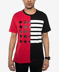 Sean John Men's Split-Flag T-Shirt