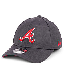 New Era Atlanta Braves Charcoal Classic 39THIRTY Cap