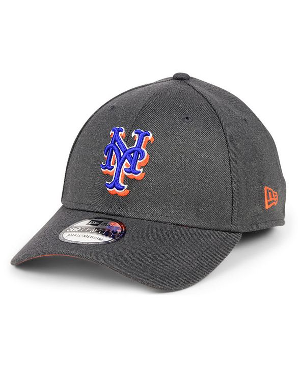 New Era New York Mets Charcoal Classic 39THIRTY Cap