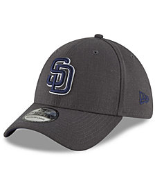 New Era San Diego Padres Charcoal Classic 39THIRTY Cap