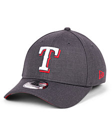 New Era Texas Rangers Charcoal Classic 39THIRTY Cap
