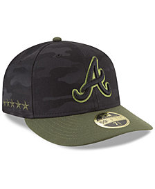 New Era Atlanta Braves Memorial Day Low Profile 59FIFTY FITTED Cap