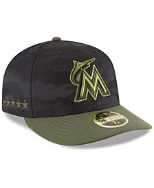 New Era Miami Marlins Memorial Day Low Profile 59FIFTY FITTED Cap