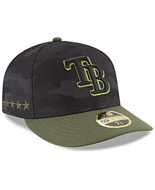 New Era Tampa Bay Rays Memorial Day Low Profile 59FIFTY FITTED Cap